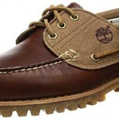 Pantofi barbat TIMBERLAND Classic 3 -eye boat shoes originali piele 40-44, 41, 43, 43.5, Maro