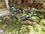 BICICLETA CU MOTOR 80cc   3.2hp