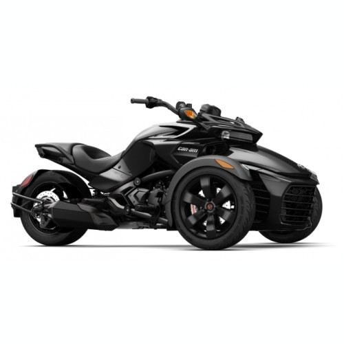 Can-Am Spyder F3 SE6 Steel Black Metallic '18