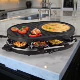 Grill-Racleta cu Aparat pentru Crepe Tristar RA2996 1200W