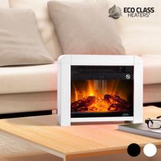 Șemineu Electric Micatermic Eco Class Heaters EF 1200W Negru