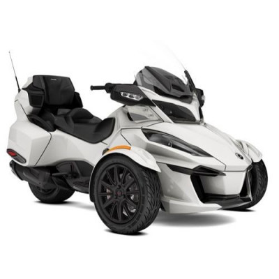 Can-Am Spyder RT Limited SE6 Pearl White '18 foto