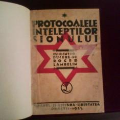 Roger Lambelin Protocoalele inteleptilor Sionului - Carte veche