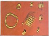 bnk cp Tezaur de aur din epoca bronzului - Racatau - vedere - necirculata