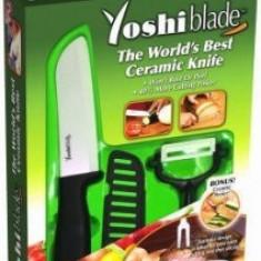 Set cutit mare si dispozitiv ceramic Yoshi Blade
