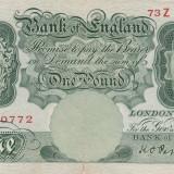 Marea Britanie   1 Pound ND 1934 sign Peppiatt  P.363c   VF
