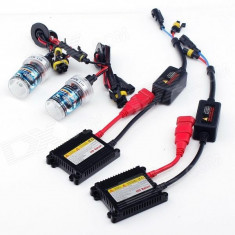 Kit Instalatie Xenon H4 Doua Faze 6000k Slim 9-16v 35W Cod (3-2H4)