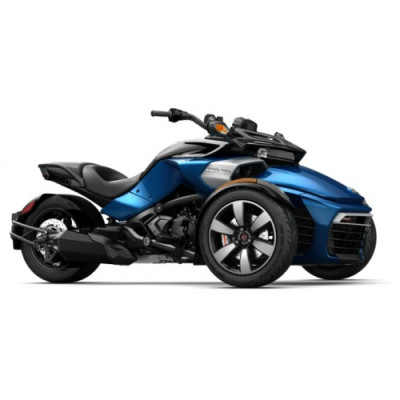 Can-Am Spyder F3-S SE6 Oxford Blue Metallic '18 foto