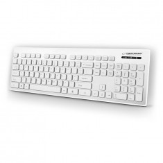 Tastatura USB rezistenta la apa, 103 taste qwerty, IP05, Esperanza Singapore - Tastatura PC