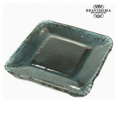 Farfurie Decorativă Sticlă reciclată - Crystal Colours Deco Colectare by Bravissima Kitchen