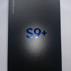 Samsung Galaxy S9 Plus 64GB - Telefon Samsung, Negru, Neblocat, Single SIM