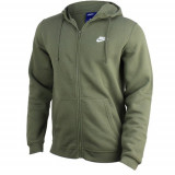 Hanorac barbati Nike Club Full Zip Fleece 804389-222
