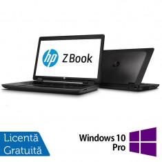 Laptop Refurbished Hp Zbook 17, Intel Core i5-4330M 2.80Ghz, 8GB DDR3, 128GB SSD, DVD-RW, 17.3 inch, IPS LED display + Windows 10 Pro - Server de stocare