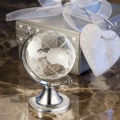 Glob Pamantesc Cristal - Marturii nunta