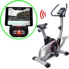 Bicicletă fitness programabilă masă în mișcare 10 kg, Smart App