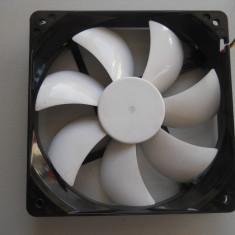 Cooler, ventilator carcasa 120x120 mm Akasa Led White. - Cooler PC