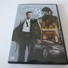 007 - casino royale - dvd, Engleza