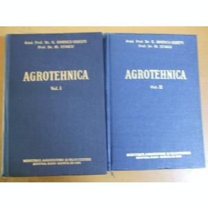 Agrotehnica 2 volume 1958 G. Ionescu - Sisesti 483 ilustratii