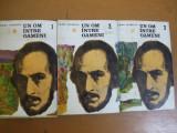 Un om intre oameni 3 volume Camil Petrescu Nicolae Balcescu