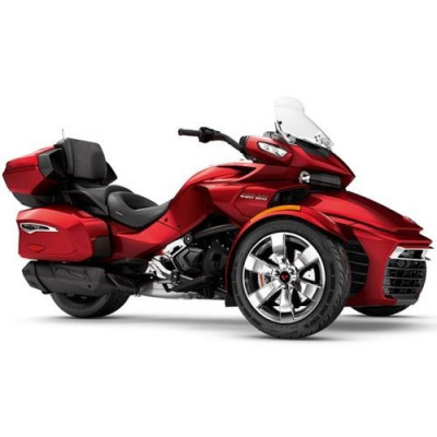 Can-Am Spyder F3 Limited SE6 Intense Red Pearl '18 foto
