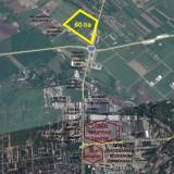 Proprietar vand teren Sanpetru  60 ha, Teren intravilan