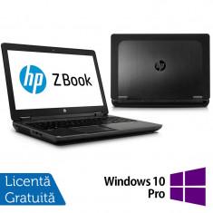 Laptop Refurbished Hp Zbook 15, Intel Core i7-4600U 2.10Ghz, 16GB DDR3, 256GB SSD, 15 inch, LED display + Windows 10 Pro - Server de stocare