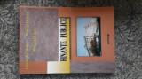 FINANTE PUBLICE - DRACEA MATEI