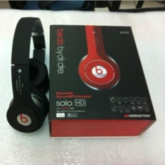 Casti bluetooth stereo Monster Beats by Dr. Dre HD Solo Bluetooth S450