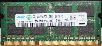 Memorie ram laptop sodimm ddr3 4 gb, samsung, hynix, garantie foto