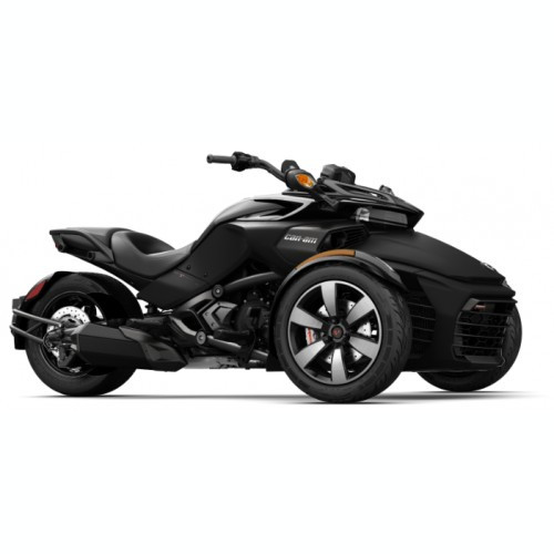 Can-Am Spyder F3-S SE6 Monolith Black Satin '18
