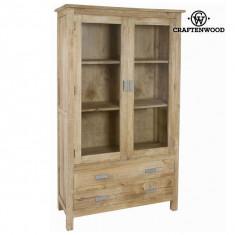 Vitrină cu 2 uși din lemn - Pure Life Colectare by Craftenwood