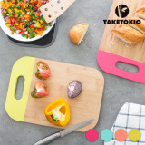 Planșetă de Bucătărie din Bambus cu Mâner TakeTokioRoz
