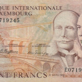 Luxembourg   100 Francs  8.03 1981  Banque Internationale  P.14a   VF