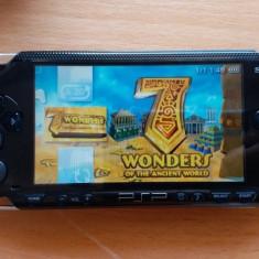 Consola PSP 1000 MODATA PSP MODAT Card 16 GB + 141 Jocuri Pe Card