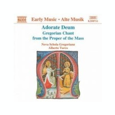 Adorate Deum - Gregorian Chant from the Proper of the Mass (CD)