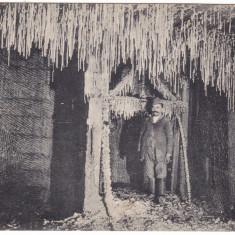 #-2202- Ro, Marosujvar, Ocna Mures c.p. circulata 1909: Sarea din ocna Rudolf - Carte Postala Transilvania 1904-1918, Fotografie