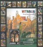 2011 LP 1911 VITRALII MUZEU ARTA VECHE FURNICA-MINOVICI COLITA DANTELATA MNH