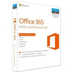 Aplicatie Microsoft Office 365 Home, 1 An, 5 Utilizatori - Aplicatie PC