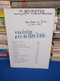M. SEVASTOS - MONOGRAFIA ORASULUI PLOESTI,EXTRAS :POLITICA SI ADMINISTRATIA,1937