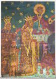 Bnk cp Voronet - Detaliu de pictura interioara - necirculata, Printata