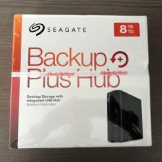 Hard Disk HDD extern Seagate Backup plus Hub 8TB USB 3.0