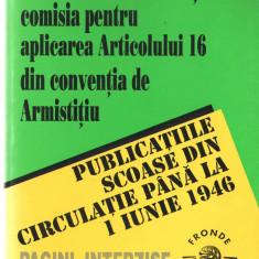 Publicatiile Scoase Din Circulatie Pana La 1 Iunie 1946 Pagini Interzise, Alta editura