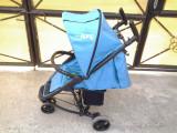 Visual Safe Blue / carucior sport copii 0 - 3 ani