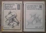 Geometria spatiului arhitectural// 2 volume