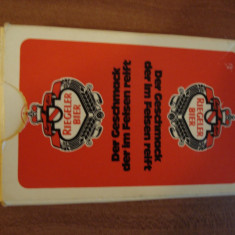 Carti  de  joc  - Riegeler -bier