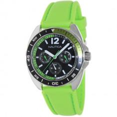 Ceas Nautica barbatesc Sport Ring A09912G Green Silicone Quartz - Ceas barbatesc