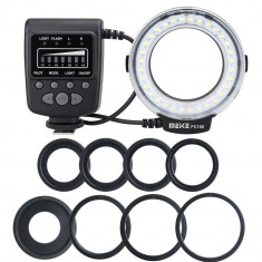 Macro Ring Flash blitz FC100 Pentru Nikon DSLR model Meike LED, Circular