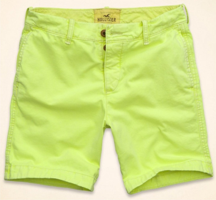 Pantaloni scurti barbati Hollister-mas. 34-Lichidare stoc foto mare