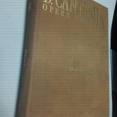 DIMITRIE CANTEMIR - OPERE IX - tomul 1 - Carte Istorie
