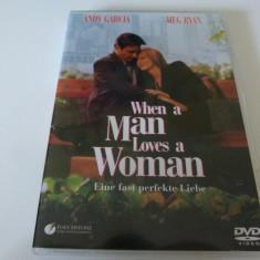 When a man loves a women - dvd - Film romantice, Engleza